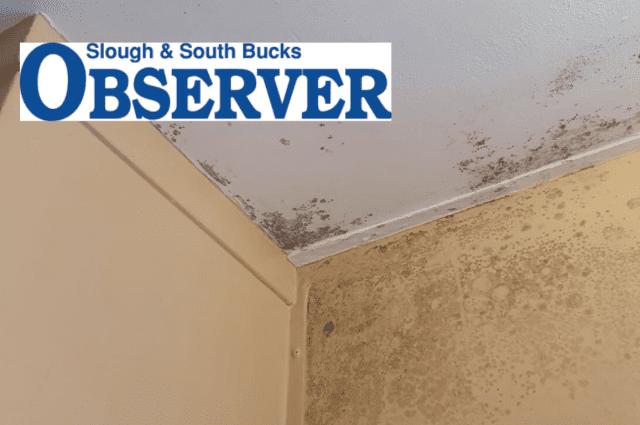 slough observer mum lockdown housing disrepair